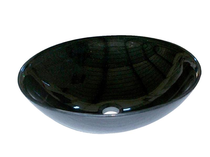 石の水鉢シリーズ 水鉢 山西黒(丸) EC3-004