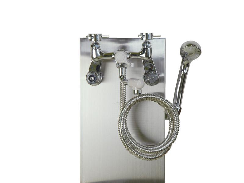 ファッションデザイナー GM3-F-950BK:イーヅカ 混合栓 シャワー付き-エクステリア・ガーデンファニチャー