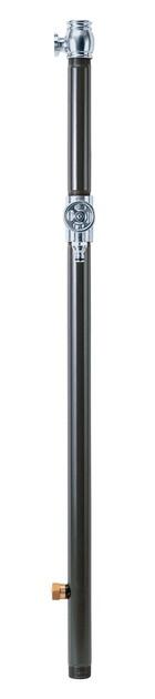 エッセンスガーデン 水栓柱(双口)チャコール(クロームサテン) IB3-GF327020