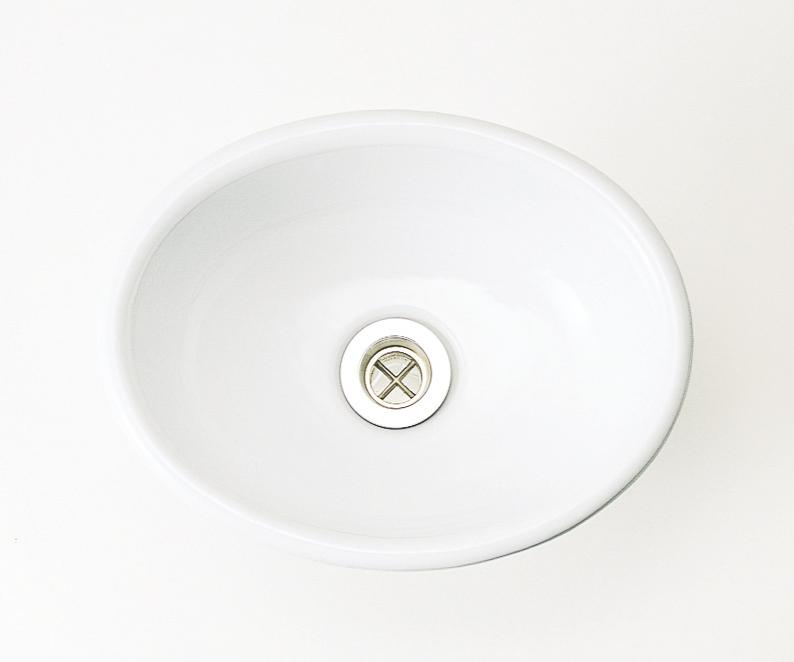 陶磁器手洗器 ブランカ Sオーバル IB4-E274080