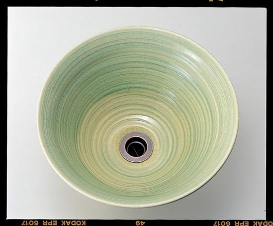 手作り手洗い鉢L 玻璃(ビードロ) IB4-E329014 【受注生産】