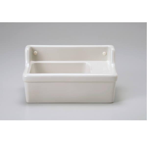 壁付型手洗器(横水栓用/穴なし) リネン IB4-E350110