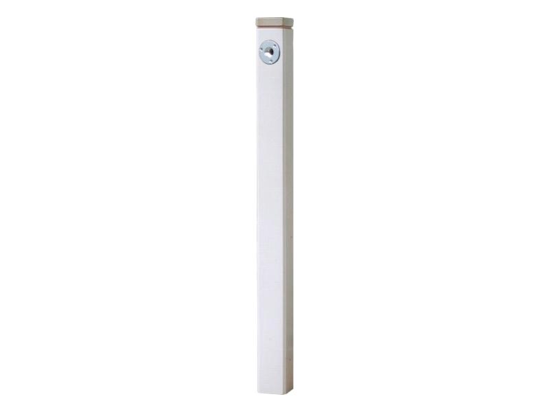 陶器の立水栓75 (補助蛇口仕様)シリーズ 白釉 KZ3-804B