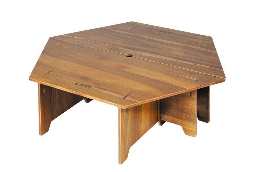 キャプテンスタッグ CSクラシックス ヘキサセンターテーブル 96 UP-1040