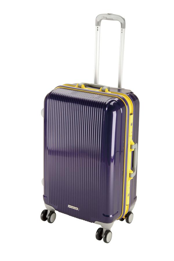 キャプテンスタッグ グレル トラベルスーツケース(TSAロック付ハードフレームタイプ)(M)(ウルトラマリン) UV-0017