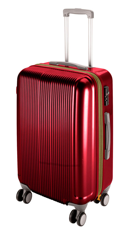 キャプテンスタッグ グレル トラベルスーツケース(TSAロック付ダブルファスナータイプ)(L)(ワインレッド) UV-0025