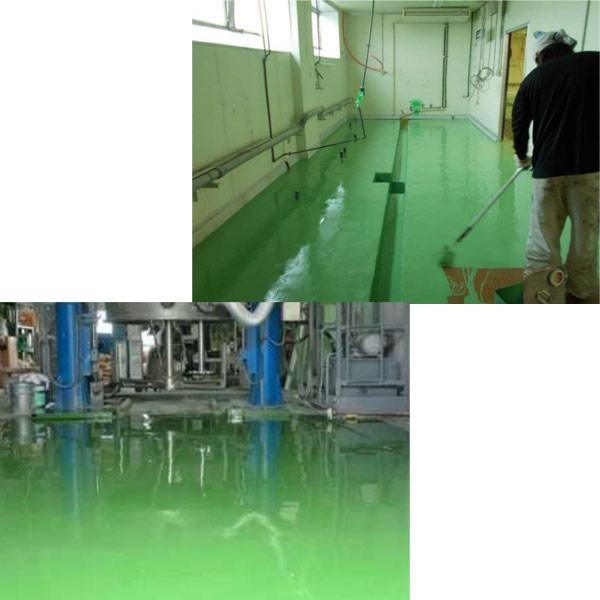 服部商店 NEO ONE 低臭気エポキシ樹脂 Fシリーズ 塗床材 無溶剤 ローラータイプ F-110 20kgセット(主剤16kg、硬化剤:4kg)