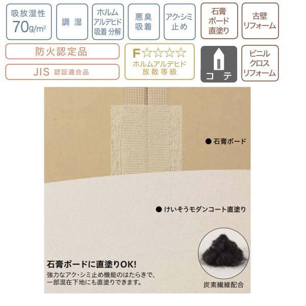 四国化成 けいそうモダンコート 直塗り 4坪セット(基材+カラー)