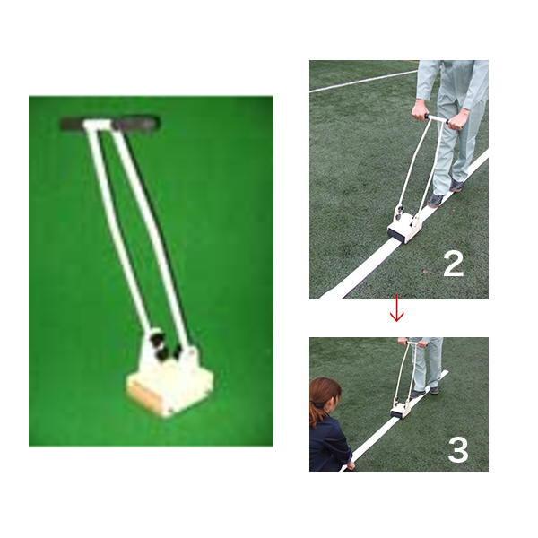 伸和 人工芝用ラインテープ 圧着機 圧着ローラー AB-BLM01