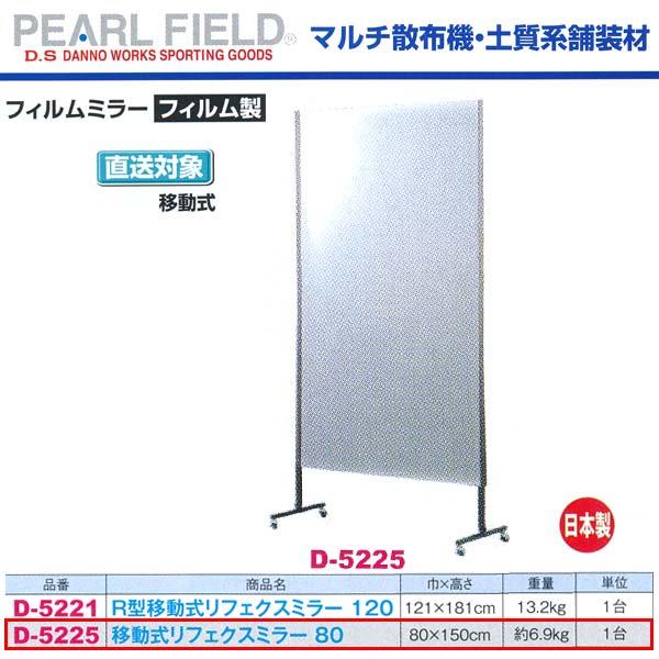 ダンノ 移動式 リフェクスミラー 80 D-5225 フィルム製 巾80×高さ150cm