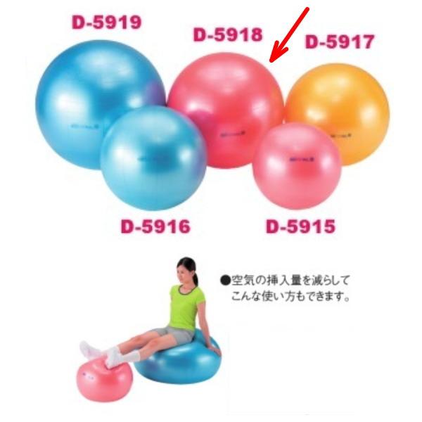 ダンノ ギムニクボディボール85 Φ85cm レッド D-5918