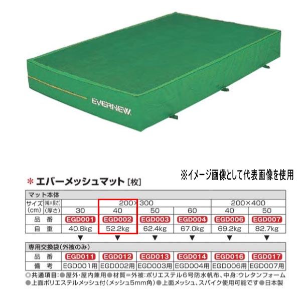 エバニュー エバーメッシュマット EGD002 200×300cm 40cm厚