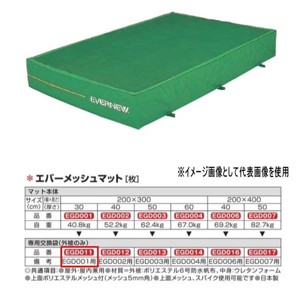 エバニュー エバーメッシュマット EGD001用専用交換袋(外被のみ) EGD011