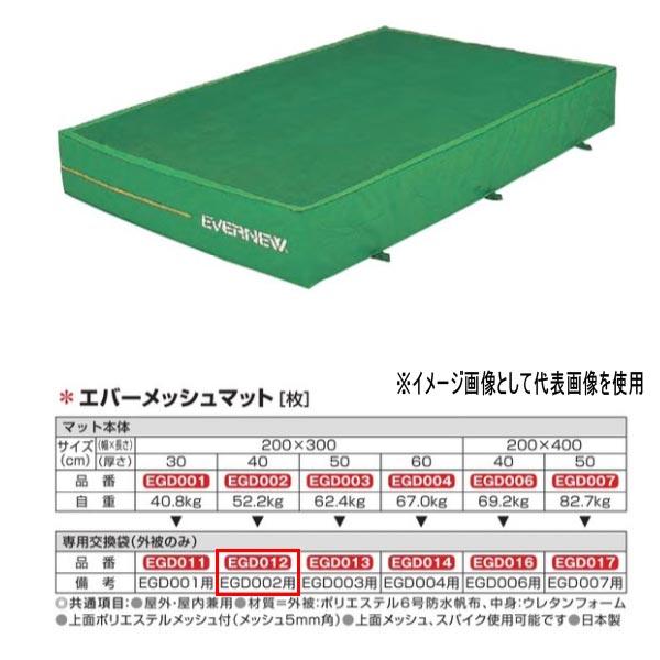 エバニュー エバーメッシュマット EGD002用専用交換袋(外被のみ) EGD012