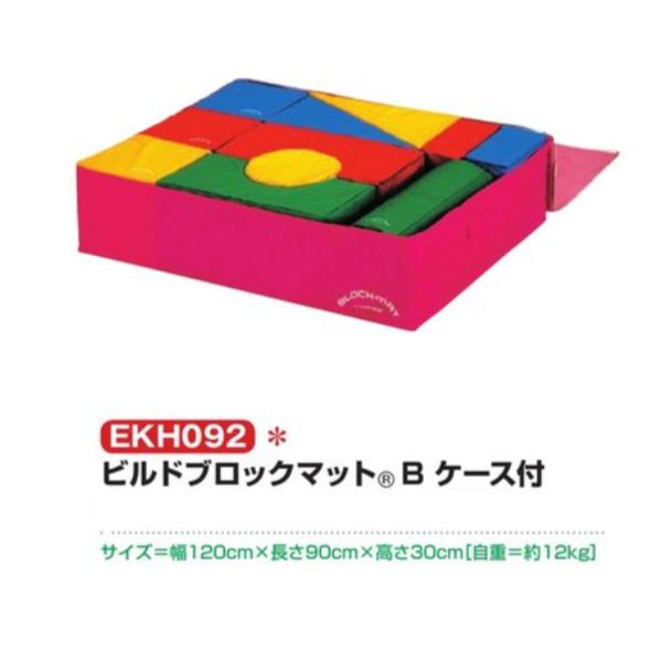 エバニュー ビルドブロックマット Bケース付 EKH092