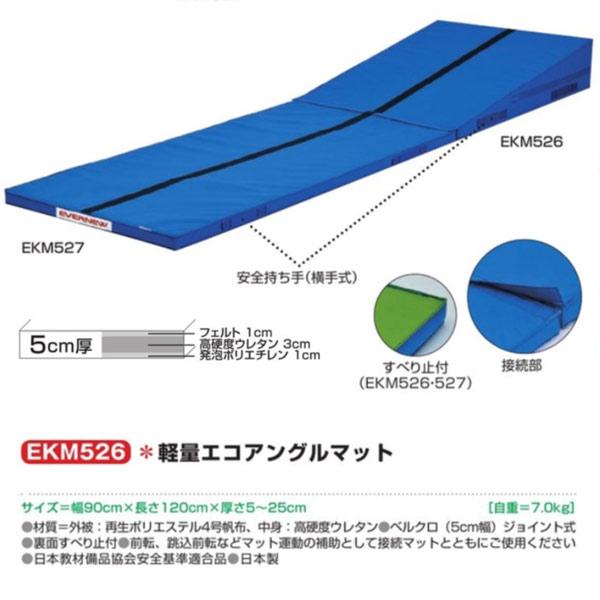 エバニュー 軽量エコアングルマット EKM526 幅90×長120cm 厚5~25cm