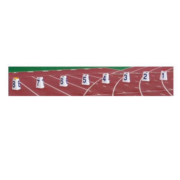 ニシスポーツ レーンナンバー標識 1~8レーン用(8台組) F1191E