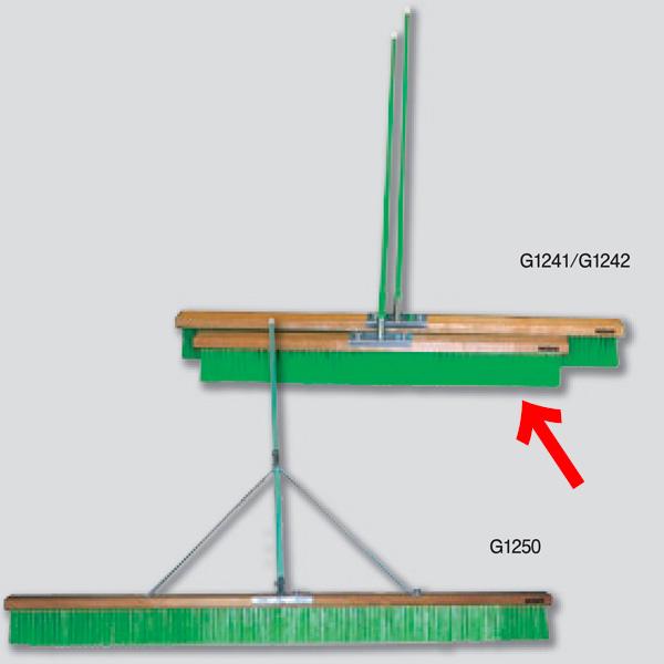 ニシスポーツ コートブラシ スタンダード ナイロン1200mm G1241 (W)1200×(L)1350×(T)120mm