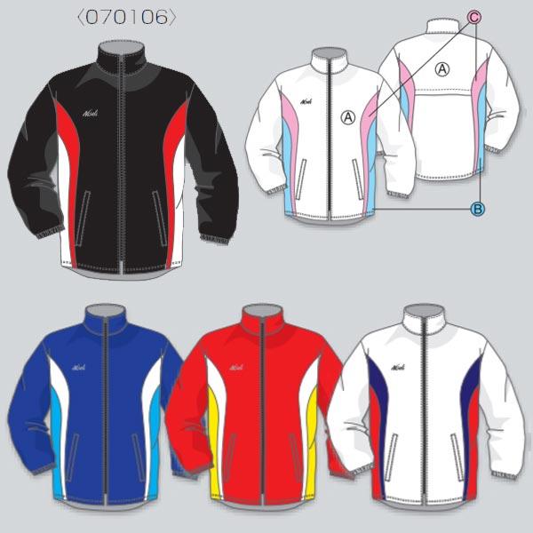 ニシスポーツ オーダーシステム ワイドサイズ・ライトブレーカー ジャケット 男女共通 N93-J14