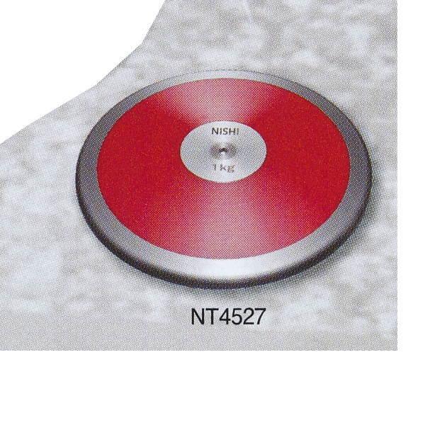 ニシスポーツ 円盤 練習用 1.0kg (Φ)180.0mm NT4527