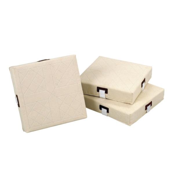 三和体育 レギュラーベース(3枚1組) 軟・硬式兼用 38×38×8cm S-4979
