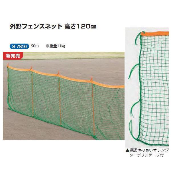 三和体育 外野フェンスネット 高さ120cm 50m S-7810