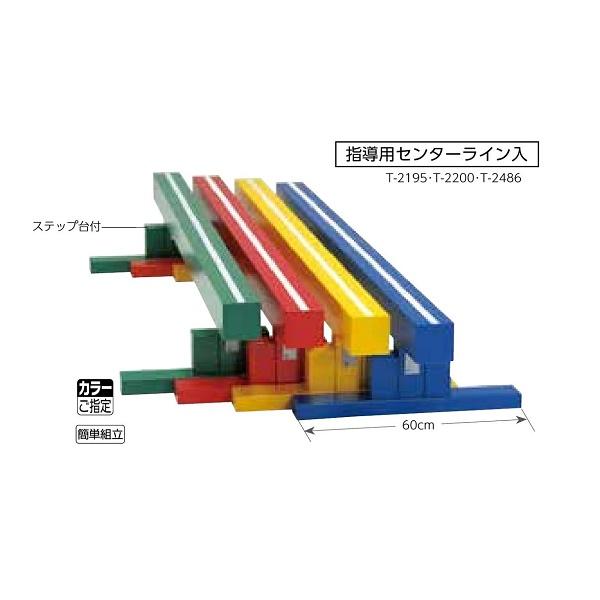 トーエイライト 平均台 200 カラーご指定 簡単組立 指導用センターライン入 T-2195