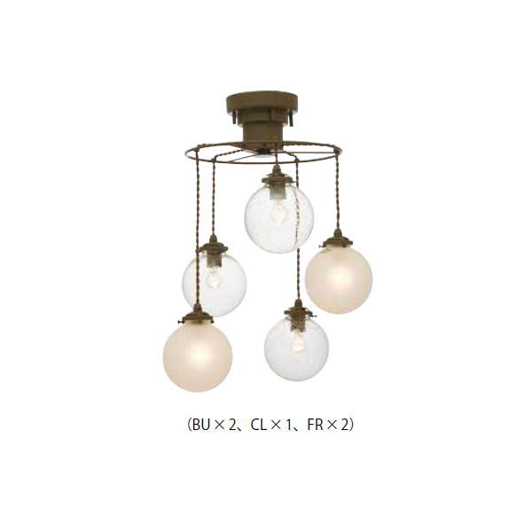 インターフォルム ペンダントライト Orelia 5 オレリア 5 LT-3531/3532/3533