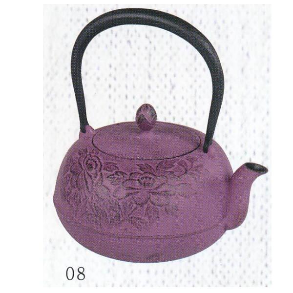 南部池永 鉄瓶 瑞光 紫 116237