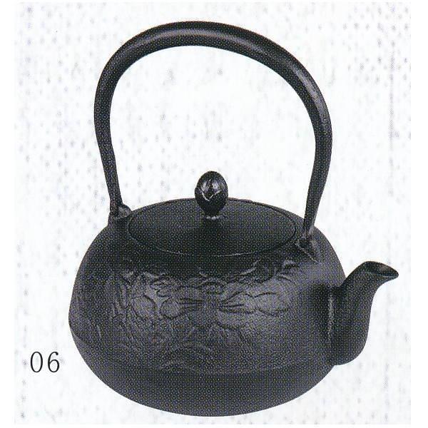 南部池永 鉄瓶 瑞光 黒 116244