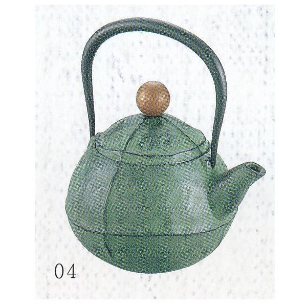 南部池永 鉄瓶 くる・む グリーン 116350