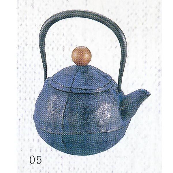 南部池永 鉄瓶 くる・む ブルー 116367