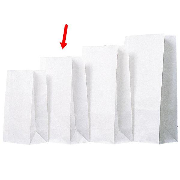 角底袋 310604 角底袋白無地 6号 150×90×280 2000枚