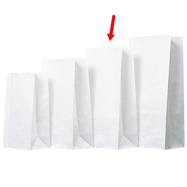 角底袋 310804 角底袋白無地 8号 156×95×318 2000枚