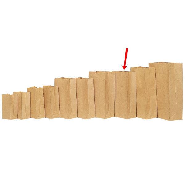 角底袋 312001 角底袋無地 20号 210×130×405 1000枚