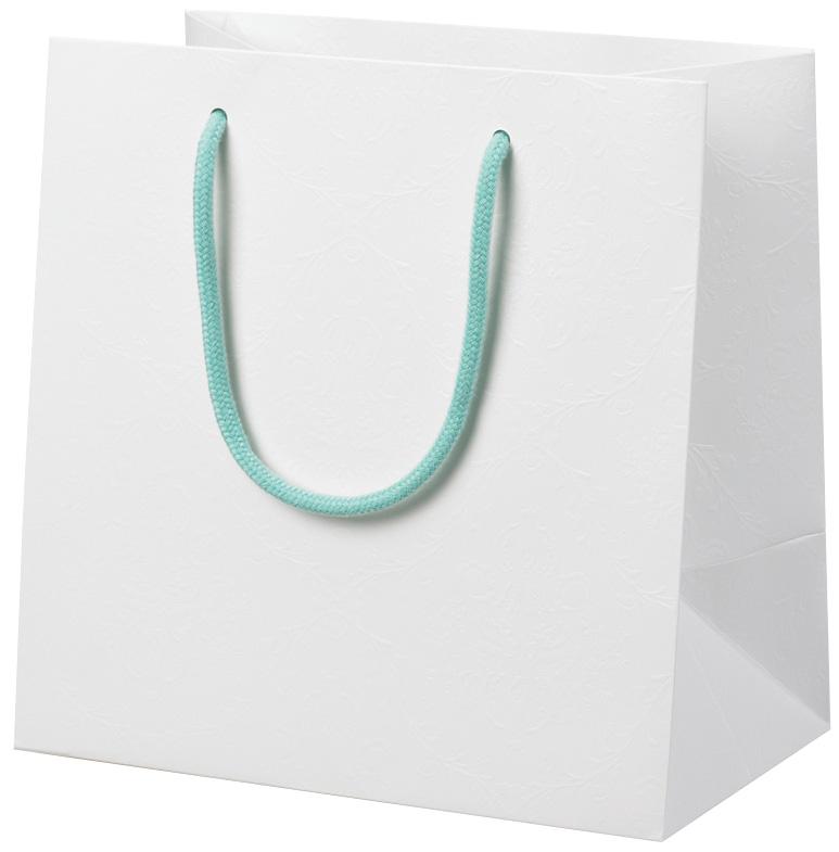 高級感のある 手提げ袋 ショッピングバッグ 383967 ジョイ・ホワイト JW-260 260×160×260 50枚