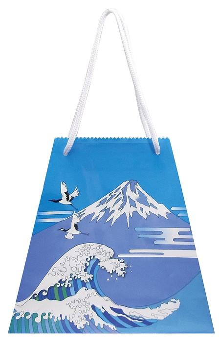 包装袋 富士山 383980 富士山 4色 270(上150)×85×245 100枚