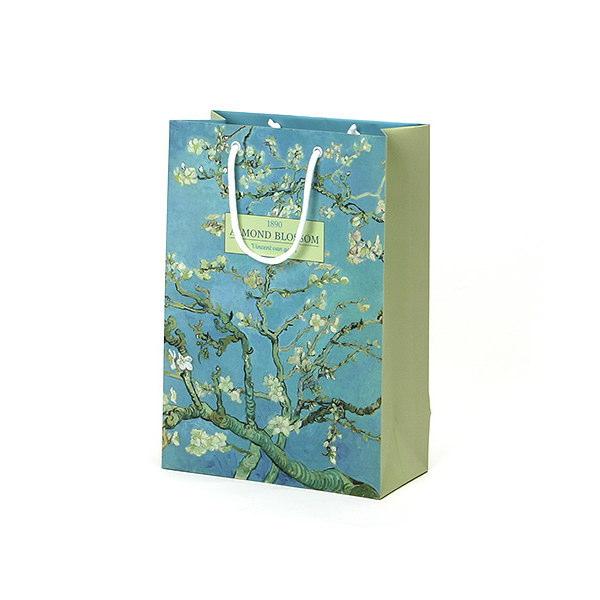 紙袋 デザイン名画 スノー紙 DPY2435 240×120×350mm 100枚