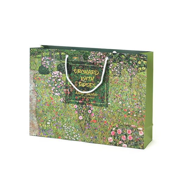 紙袋 デザイン名画 スノー紙 DPYR4231 420×110×310mm 100枚