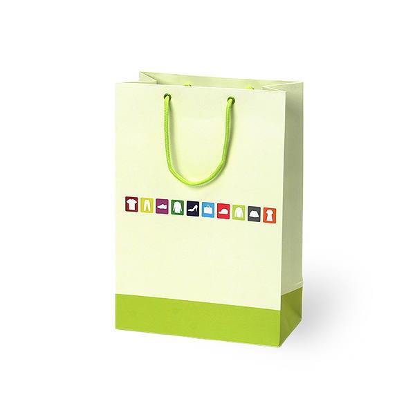 紙袋 デザインアパレル スノー紙 DSG1-2435 240×120×350mm 100枚