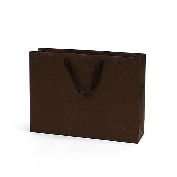 紙袋 無地ブラウン クラフト紙 MBR4231 420×110×310mm 50枚
