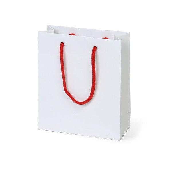 紙袋 無地ホワイト スノー紙 MWT1720 170×70×200mm 100枚