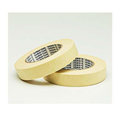 カモイ 高温焼付塗装用 マスキングテープ NO.8101-NKL 25mm巾×50m長 72巻