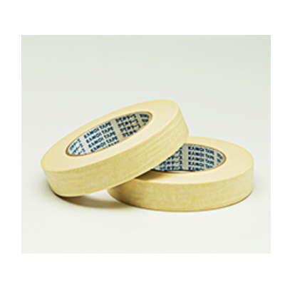カモイ 高温焼付塗装用 マスキングテープ NO.8101-NL 15mm巾×50m長 120巻