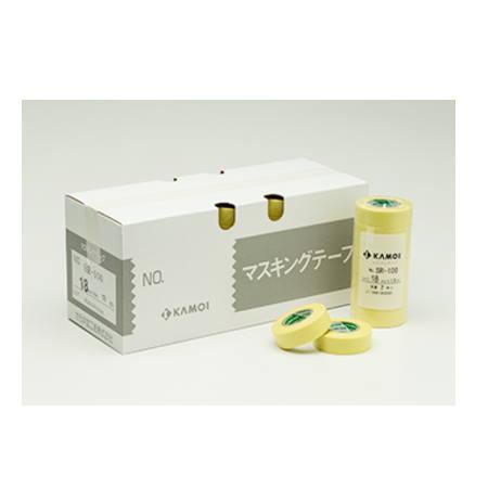 カモイ マスキングテープ SR-100 100mm巾×18m長 10巻