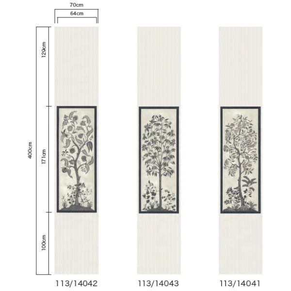 テシード 輸入壁紙 Wallpower classic コール&サン (イギリス) 70cm×4m