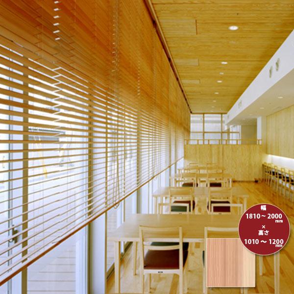 東京ブラインド 木製ブラインド こかげ ベネチアウッド50 智頭杉/無塗装(標準仕様) 高さ1010~1200mm 幅1810~2000mm