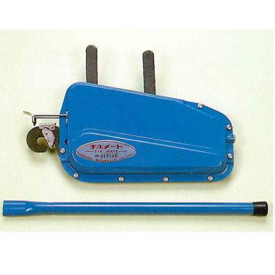 本宏製作所 チルメート ワイヤー付 ブルー 4.5×10m 巻き揚げ機 引っ張り作業に