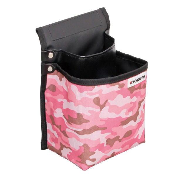 スポンジ用腰袋 期間限定で特別価格 極東産機 スポンジ袋 ももいろ迷彩 セール価格 160×230×130mm 12-8221