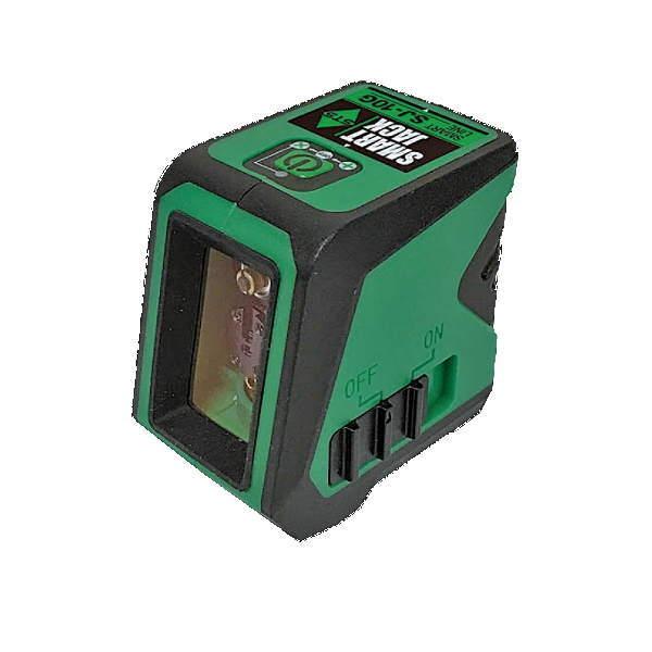 見やすいグリーンコンパクト 極東産機 業界No.1 スマートレーザー 税込 SJ10G グリーン墨出器